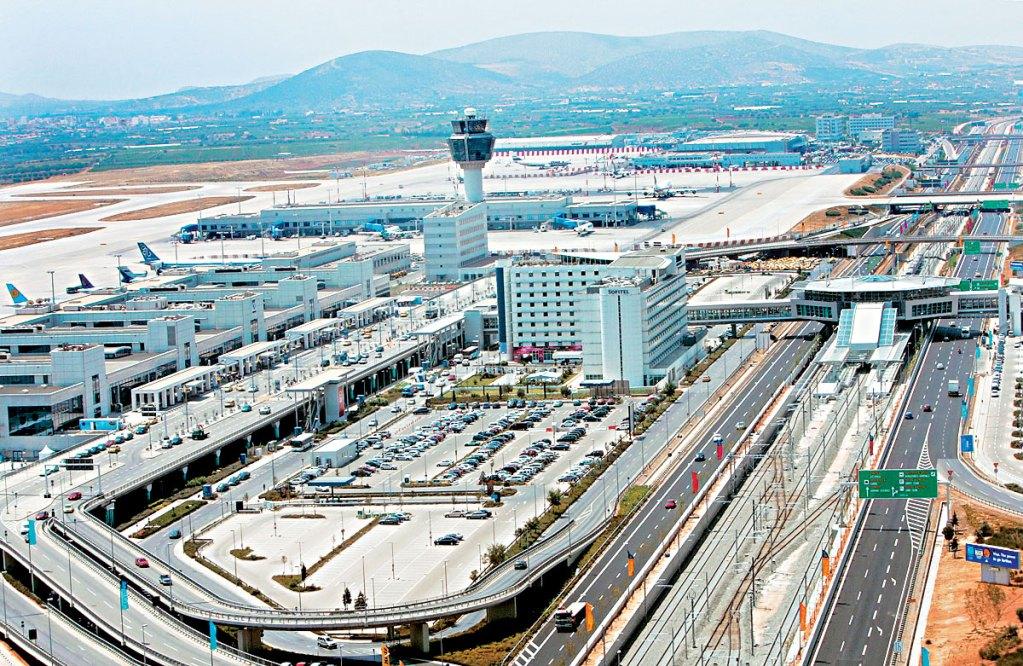 Οι Πρέσπες στο αεροδρόμιο της Αθήνας!