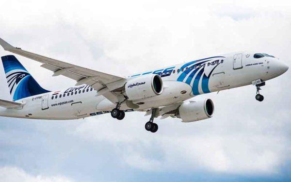 Timelapse από το πρώτο A220-300 της Egyptair