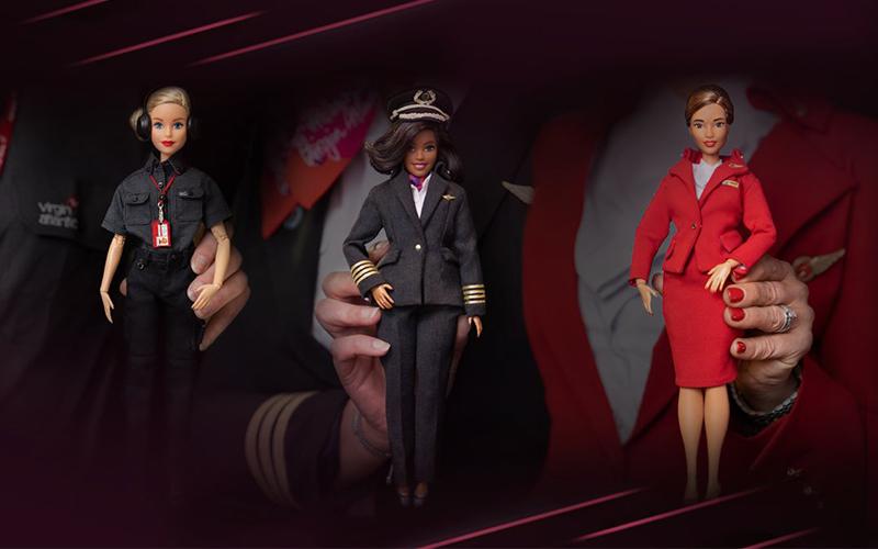 Virgin-Barbie: Έμπνευση για τις γυναίκες στην αεροπορία