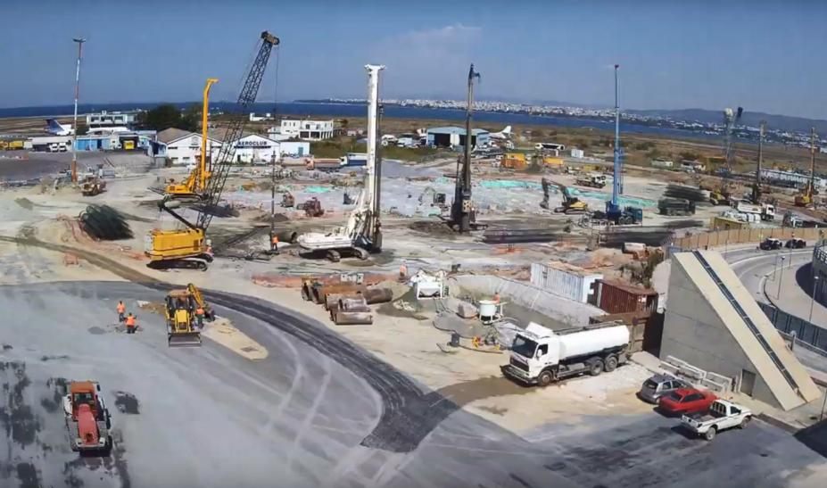Αεροδρόμιο Μακεδονία: Timelapse από την κατασκευή του νέου τερματικού σταθμού