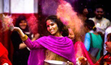 Ινδία φεστιβαλ Χολι 2