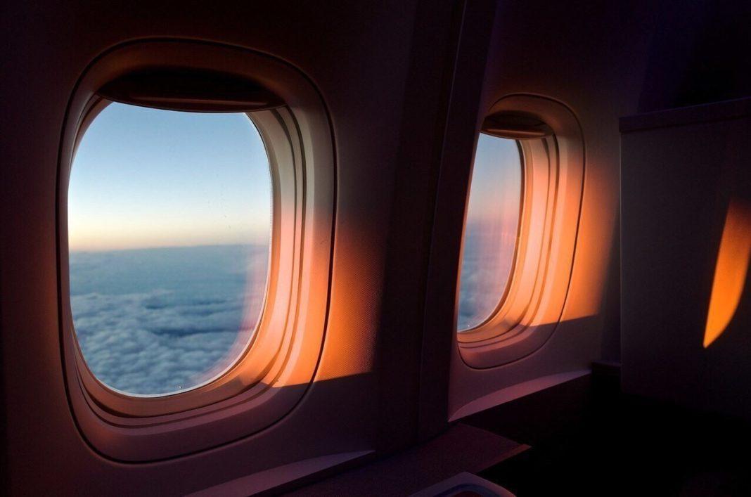 οβάλ παράθυρα αεροπλάνων