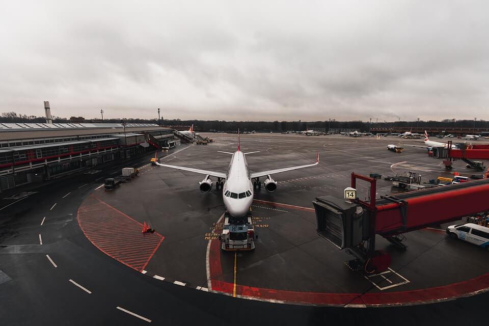 ταξίδι με το αεροπλάνο