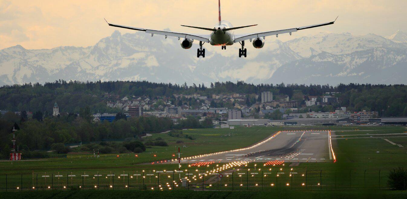Ένα μικρό αεροδρόμιο της Νέας Ζηλανδίας